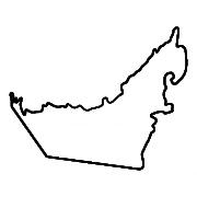 uae map